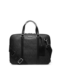 Michael Kors Jet Set Men's Logo Briefcase Black