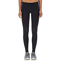 Ultracor Women's Perforated Stretch Tech Microfiber Leggings Blue