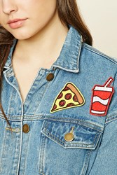 Forever 21 Fast Food Pin Set Red Yellow