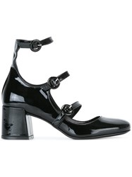 Mcq By Alexander Mcqueen Buckled Pumps Black