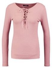 Vila Viran Long Sleeved Top Antler Mauve