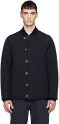 Visvim Navy Wool Reversible Jacket
