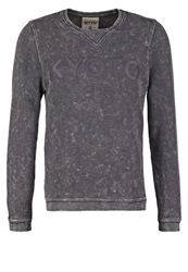 Tom Tailor Denim Sweatshirt Blue Grey Dark Blue