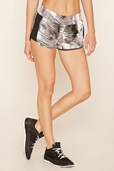 Forever 21 Active Abstract Dolphin Shorts
