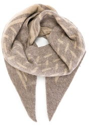 Lala Berlin 'Goober' Scarf Nude And Neutrals