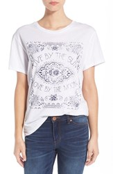 Rhythm Women's 'Sun And Moon' Graphic Tee