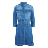 7 For All Mankind Denim Dress Victoria Blue