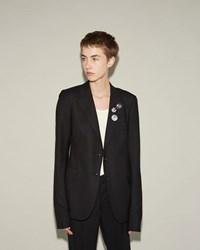 R 13 Hand Tailored Blazer Black