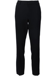 Ralph Lauren Black Label Cropped Trousers Black