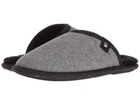 Bedroom Athletics Spacey Grey Felt Men's Slippers Gray