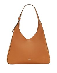 Vince Camuto Adria Leather Hobo Bag Medium Brown