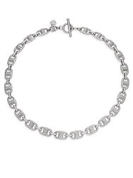 Judith Ripka Mercer White Sapphire And Sterling Silver Collar Necklace