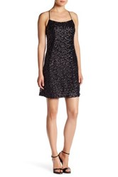Vera Wang Sequined Cocktail Dress Metallic
