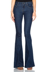 Victoria Beckham Denim Flare In Blue