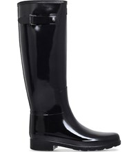 Hunter Original Refined Gloss Wellington Boots Black