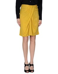 Liu Jo Skirts Knee Length Skirts Women Yellow