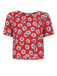 Trollied Dolly T Top Red