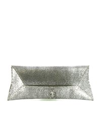 Vbh Manila Small Stingray Clutch Bag Female Silver
