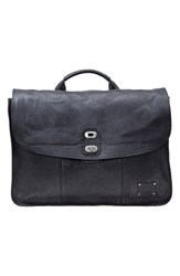 Men's Will Leather Goods 'Kent' Messenger Bag Black