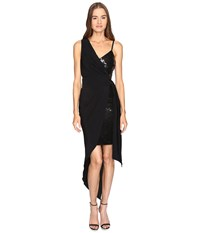 Boutique Moschino Cocktail Dress With Sash Black