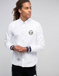 Aape By A Bathing Ape Shirt With Logo In Regular Fit White