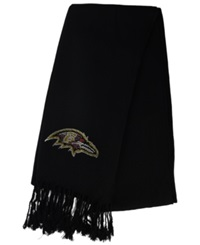 Little Earth Women's Baltimore Ravens Pashi Fan Scarf Black
