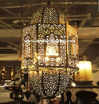 Moroccan Lamp Moroccan Lighting Moroccan Brass Lamp
