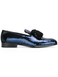 Jimmy Choo Foxley Slippers Blue