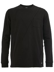 Undercover Ribbed Detail Sweatshirt Black