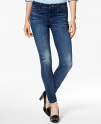 Tommy Hilfiger Faded Skinny Denim Leggings Blue