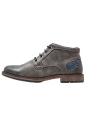 Tom Tailor Casual Laceups Coal Grey