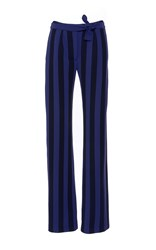 Alexis Mabille Wool Striped Smoking Trousers