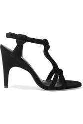 Acne Studios Bira Suede Sandals Black