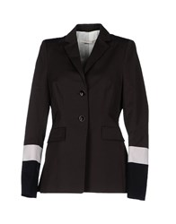 Schumacher Suits And Jackets Blazers Women Dark Brown