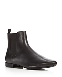 Tory Burch Orsay Pointed Toe Chelsea Booties Black