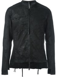 Barbara I Gongini Fitted Zipped Jacket Black