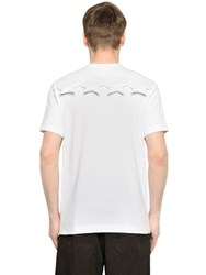 Comme Des Garcons Padded Stars Cotton Jersey T Shirt