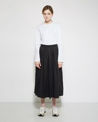 Comme Des Garcons Pleated Skirt Black