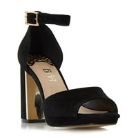 Biba Mable Platform Dressy Sandals Black