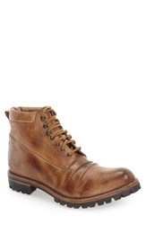 Bed Stu Men's 'Supersonic' Boot Tan Rustic Leather