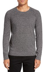 Theory Men's Donners Trim Fit Cashmere Sweater Black Multi