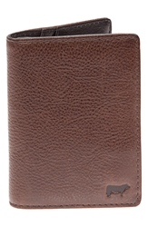 Will Leather Goods 'Clyde' Front Pocket Wallet Cognac