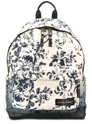 Eastpak X House Of Hackney 'Dalston Rose' Backpack Pink Purple
