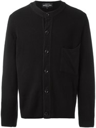 Geoffrey B. Small Patch Pocket Cardigan Black