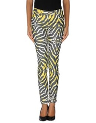 Just Cavalli Denim Pants Yellow