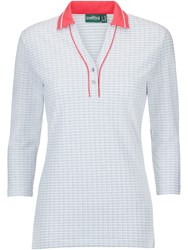Chervo Arces 3 4 Sleeve Polo Pink