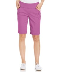 Jag Ainsley Bermuda Pull On Shorts Orchard