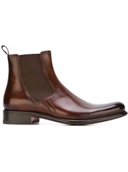 Santoni Ankle Boots Brown