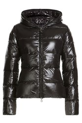 Duvetica Down Jacket With Hood Black