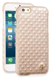 Tory Burch Embossed Leather Iphone 6 And 6S Case